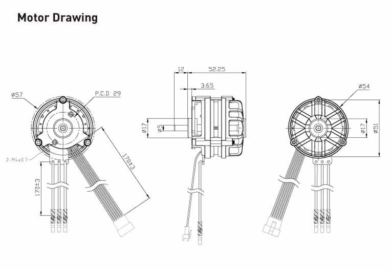 18v brushless motor  4810